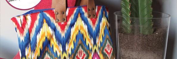 Tuto sac : mon cabas aztèque