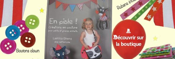 Livre de couture pour enfant : En piste!
