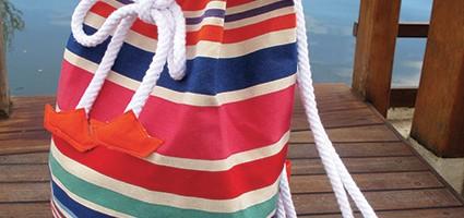 Tuto sac : mon baluchon pour la plage