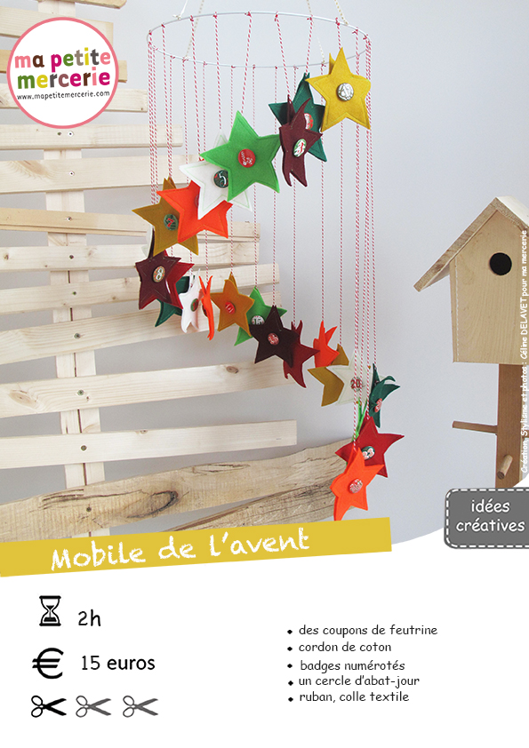 diy calendrier de l 39 avent en tissu ma petite mercerie. Black Bedroom Furniture Sets. Home Design Ideas